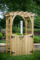 Outdoor Furniture - Wood 3'x4' Roman Arch