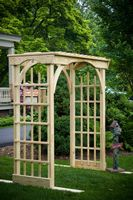Outdoor Furniture - Wood 3'x6' Martha's Arbor