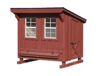 4x6 Slant Roof Chicken Coop