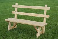 Outdoor Furniture - Wood 54 Bench