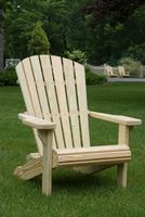 Outdoor Furniture - Wood Adirondack Chair