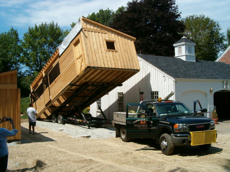 Carriage Shed Barn Or Shed Delivery Custom Barns And