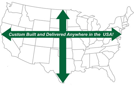 Custom Barns and Buildings - Carriage Shed Delivery in the USA!