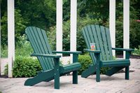 Outdoor Furniture - Wood Painted Adirondack Chairs