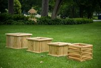 Outdoor Furniture - Wood Planters