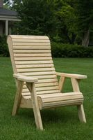 Outdoor Furniture - Wood Rollback Chair