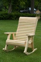 Outdoor Furniture - Wood Rollback Rocker