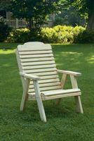 Outdoor Furniture - Wood Traditional Chair