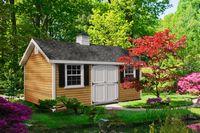 Classic Garden Structures - A-Frame Classic Garden Structure - 12 x 18