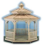 Gazebo - Wood Octagon Pagoda Gazebo