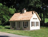 Classic Garden Structures - A-Frame Elite Garden Structure - 12 x 24
