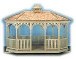 Gazebo - Wood Oval Gazebo