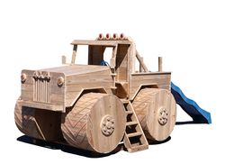 Wooden Playground Equipment - Truck