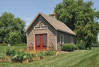 Classic Garden Structures - A-Frame Elite Classic Garden Structure - 14 x 28