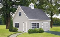 Classic Garden Structures - A-Frame Elite Classic Garden Structure - 20 x 24