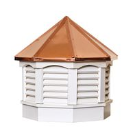 Cupola - Vinyl Gazebo Cupola with Copper Top