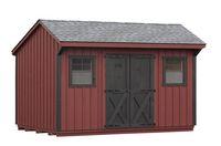 Board & Batten Shed - Manor Style Board & Batten Shed - 10 x 14