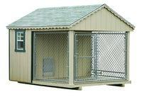 Dog Kennel - Single Dog Kennel - 8 x 10