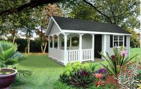 Classic Garden Structures - A-Frame Classic Garden Structure - 12 x 24