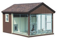 Dog Kennel - Double Dog Kennel - 8 x 12