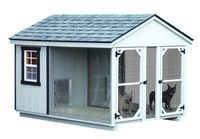 Dog Kennel - Double Dog Kennel - 6 x 10