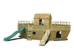 Wooden Playground Equipment - Ark