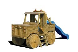 Wooden Playground Equipment - Jeep