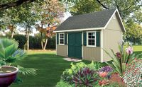Classic Garden Structures - A-Frame Manor Classic Garden Structure - 12 x 16