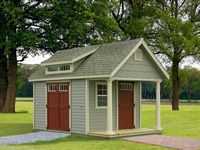 Classic Garden Structures - A-Frame Manor Classic Garden Structure - 12 x 24