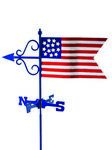 Weathervane - American Flag Weathervane