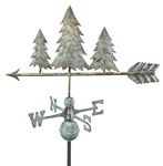 Weathervane - Pine Trees Weathervane