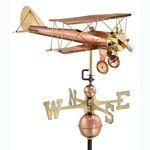 Weathervane - Biplane Weathervane