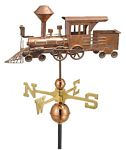 Weathervane - Locomotive Weathervane