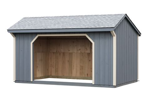 10 x 16 Run In Shed