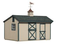 10 x 16 Shed Row Barn