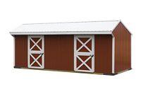 10 x 24 Horse Barn - Metal