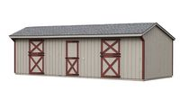 12 x 30 Shed Row Barn