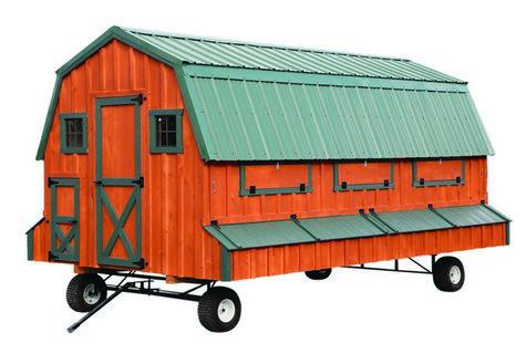 8x16 Chicken Tractor