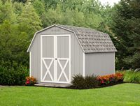 Shed - Mini Barn Shed - 8 x 10