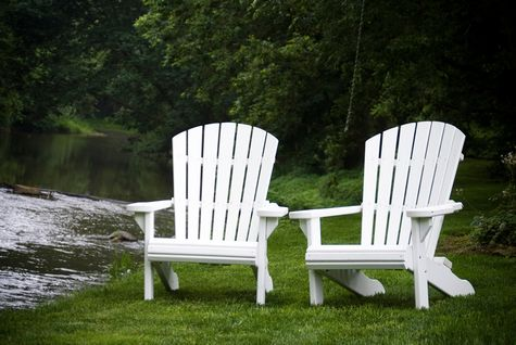 Bon White Adirondack Chairs