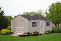 Shed - A-Frame Shed - 12 x 20