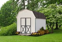 "Shed - 6'6"" Wall Barn Shed - 10 x 14"