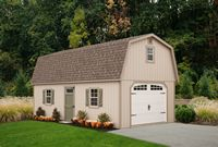 Garage - Two Story Dutch Garage - 14 x 28