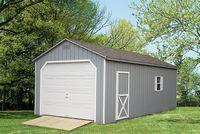 Garage - A-Frame Garage - 12 x 24