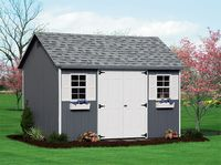 Shed - Cape Shed - 10 x 12