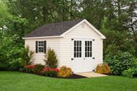 Shed - Vinyl Cape Shed - 10 x 12