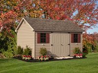 Shed - Vinyl Cape Shed - 10 x 14