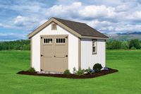 Shed - New England Cape Shed - 10 x 12