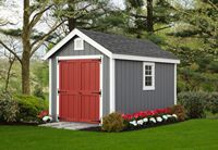 Shed - New England A-Frame Shed - 8 x 12