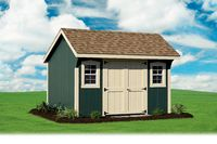 Shed - New England Quaker Shed - 10 x 12